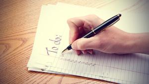 writing-to-do-list